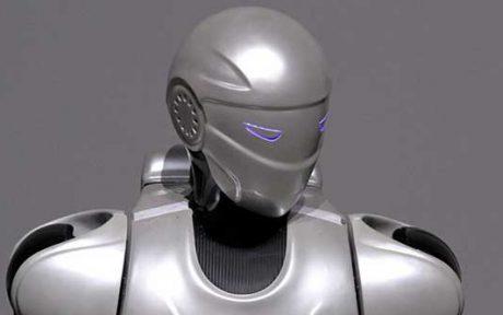 اتمام ساخت و نصب پوسته بدن روبات انسان نمای سورنا 3