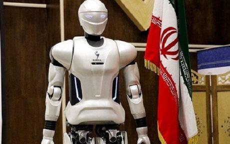رونمایی از ربات انسان نمای سورنا 3 (گزارش کامل)