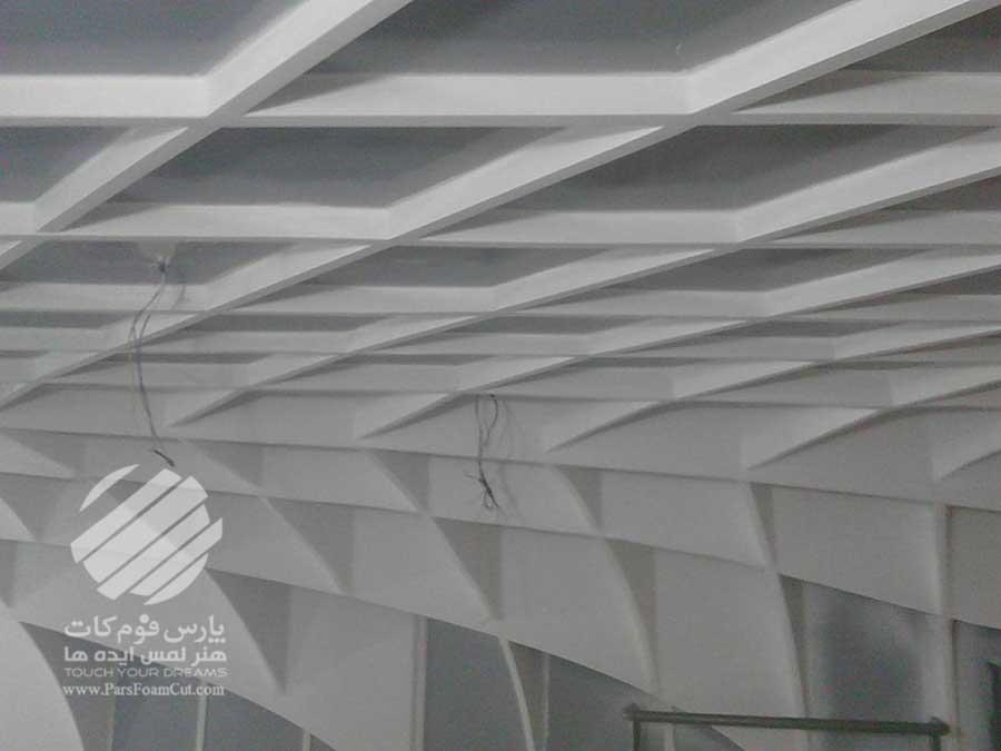 جادوی ماهر (سقف پارامتریک فروشگاه ماهر)