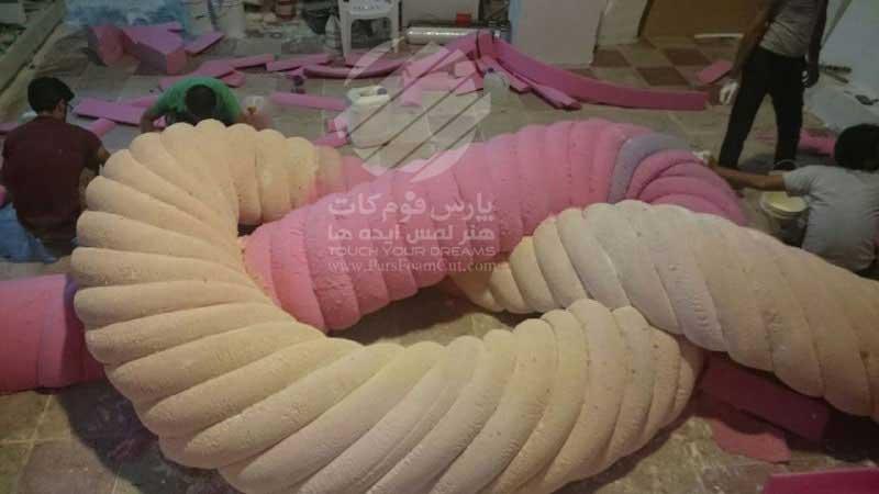 دکور برنامه جشن رمضان ۹۴