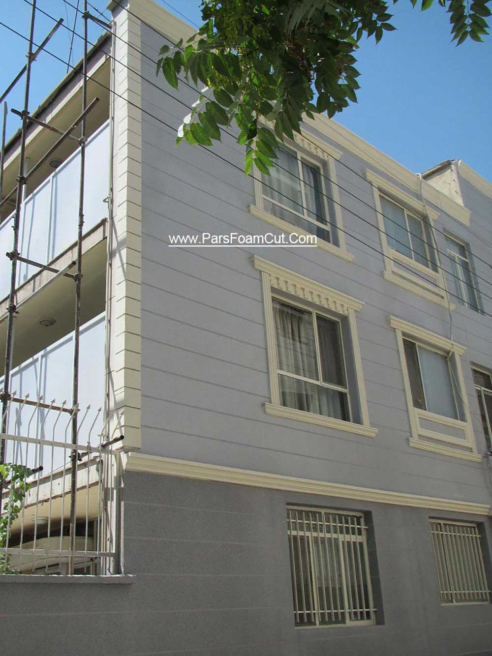 ساختمان خیابان سبلان