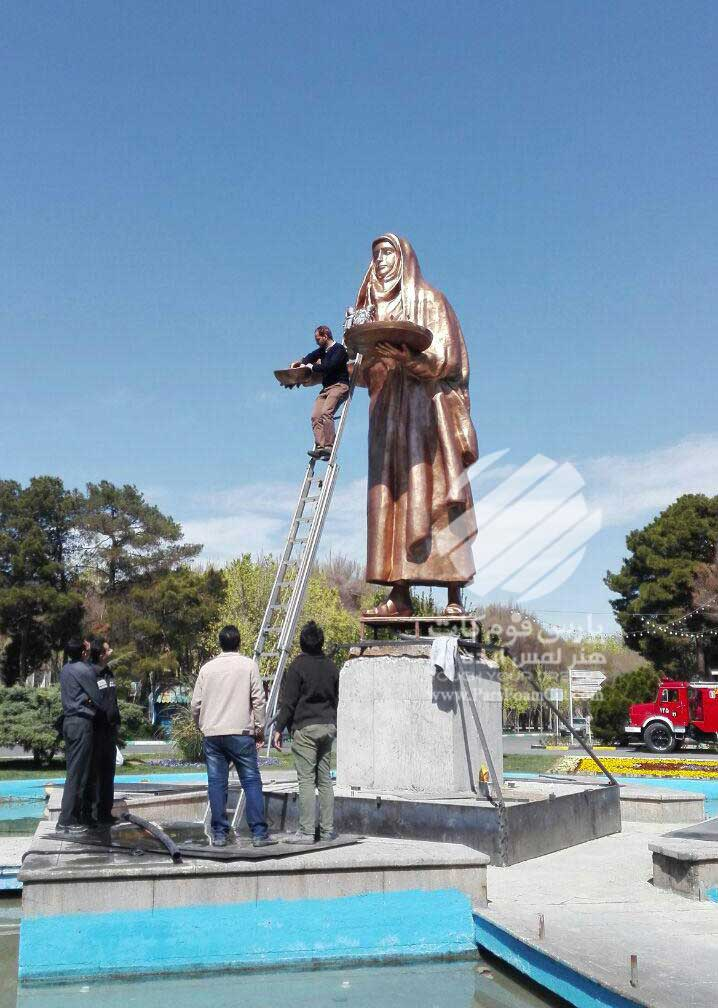 مجسمه شهری آب نما