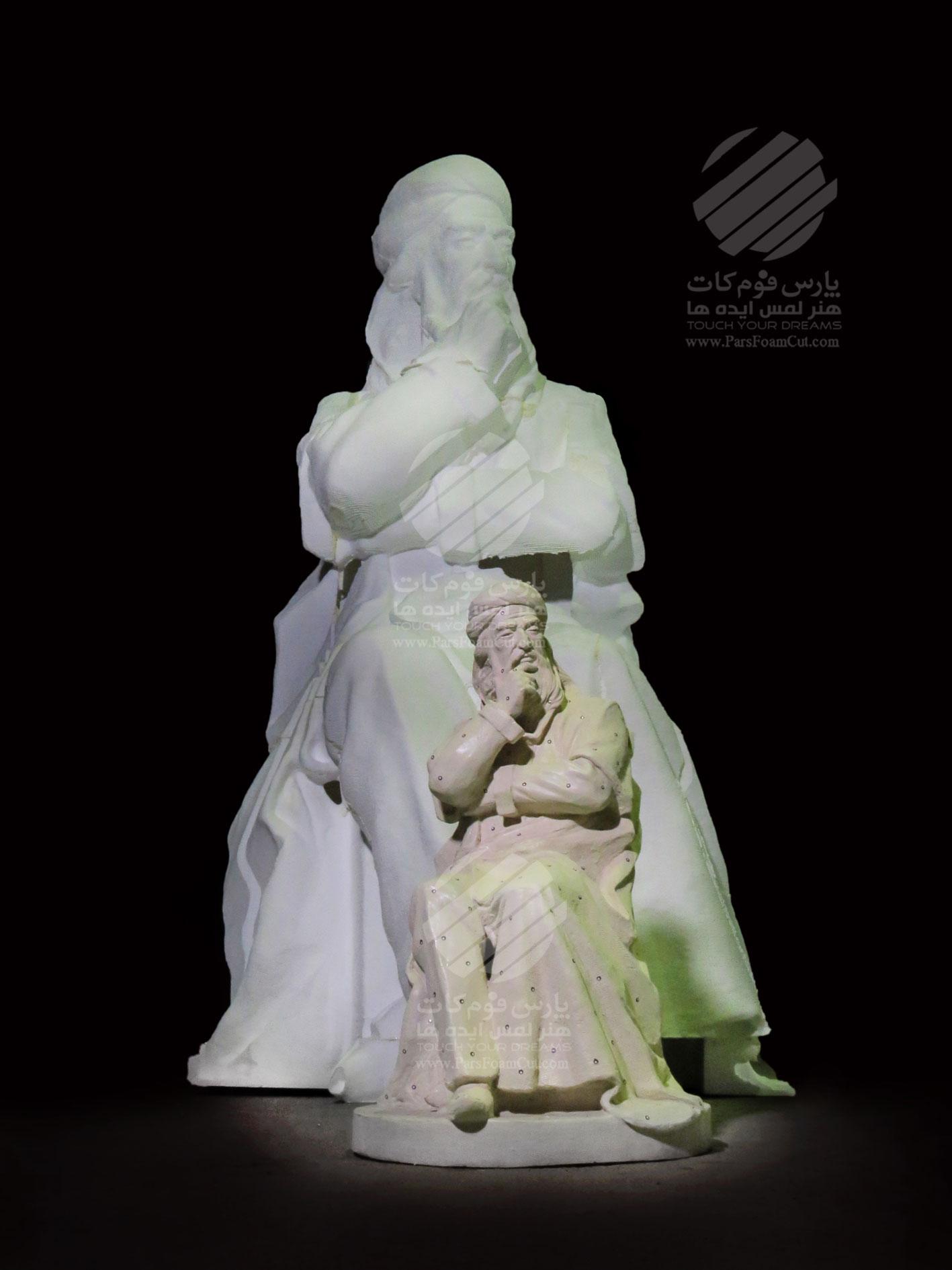 مجسمه شیخ صفی الدین