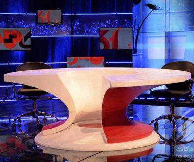 میز برنامه تلویزیونی اکسیر