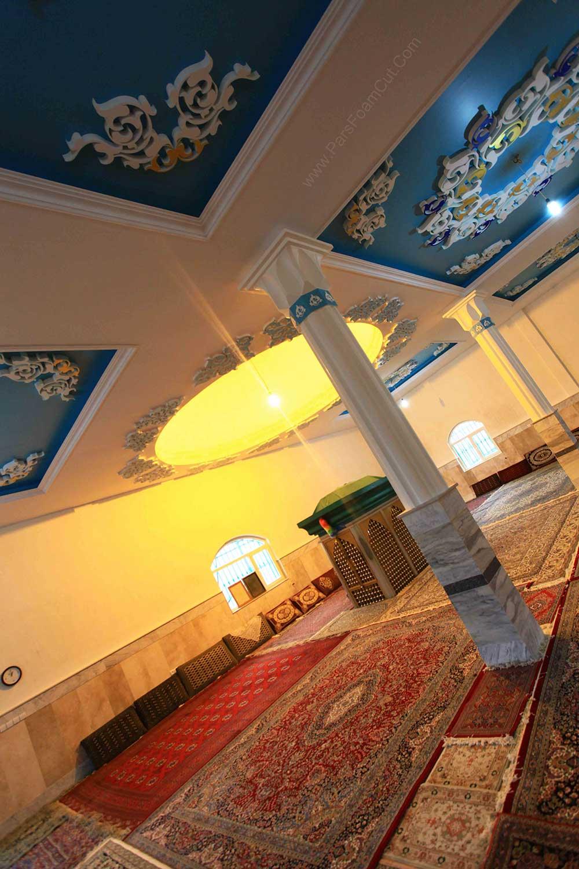 نمای داخلی امامزاده زین العابدین (ع) مشاء دماوند