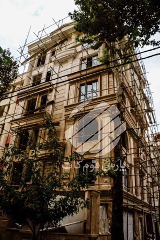 نمای ساختمان مقدس اردبیلی