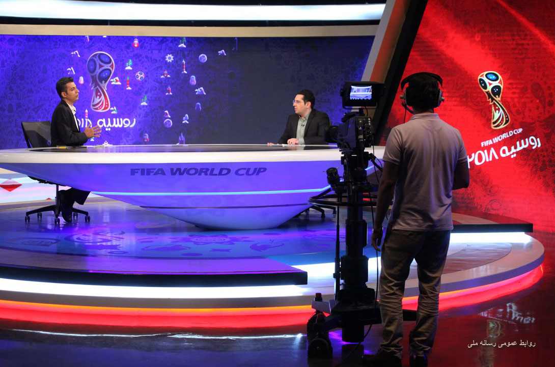 میز برنامه 2018 ویژه جام جهانی