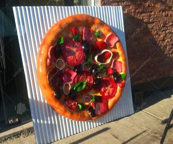 ساخت ماکت پیتزا و قوطی نوشابه کوکاکولا