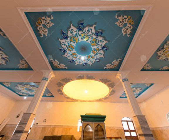 طراحی داخلی امامزاده مشاء