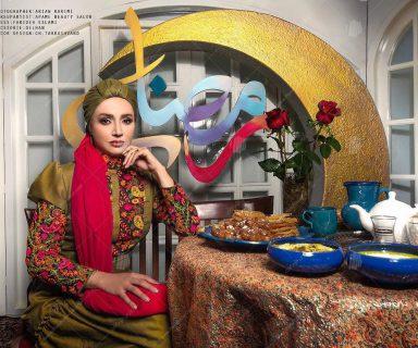 دکور برنامه تلوزیونی ماه مبارک رمضان