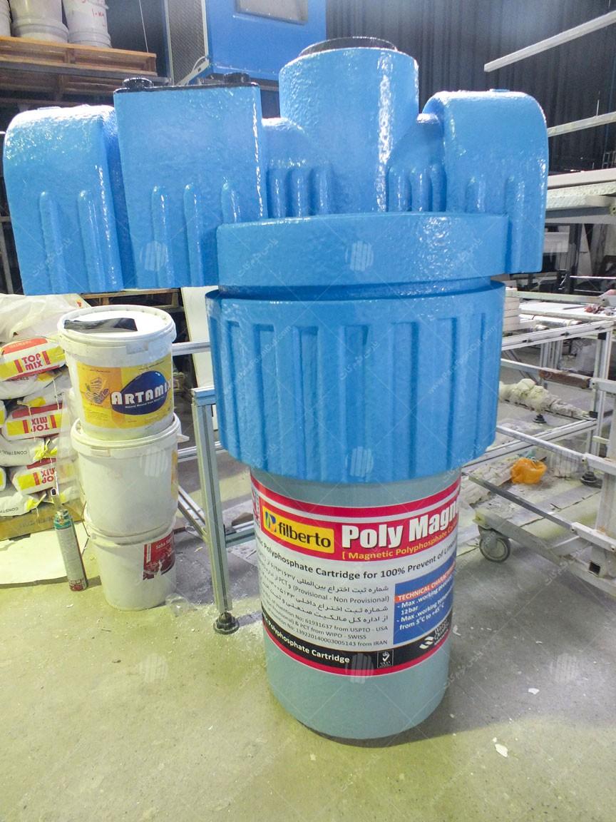 ماکت کارتریج تصفیه آب
