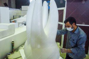 پروژه ماکت دندان ، صندلی و کمربند ایمنی